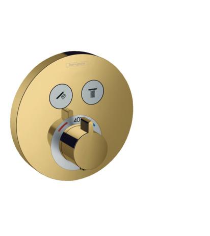 HG Thermostat Unterputz ShowerSelect S Fertigset 2 Verbraucher PGO