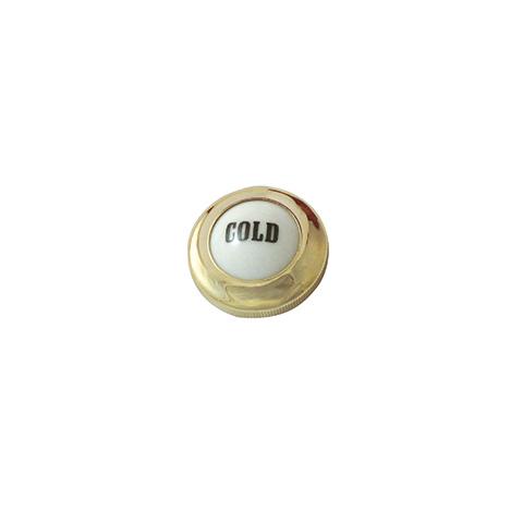 KLUDI Ersatzteil Porzellanmarkierung Adlon Cold messing
