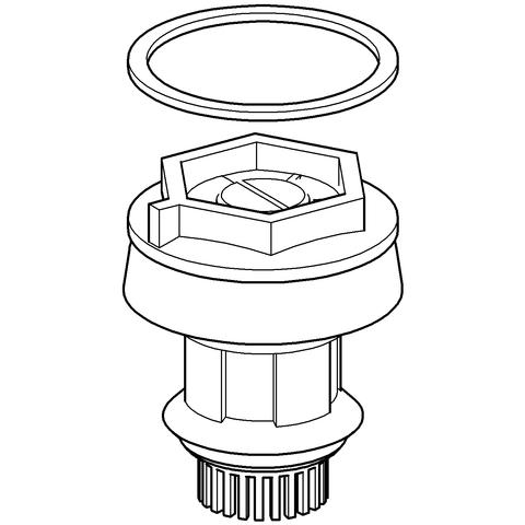 GROHE Kolben 43448 komplett für WC-Druckspüler Aufputz