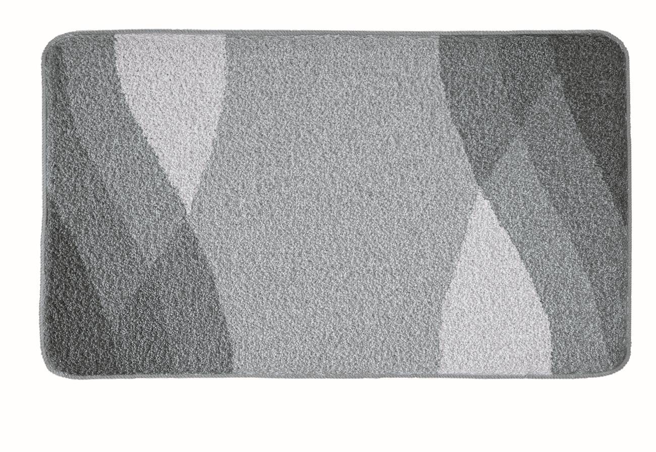 Badteppich Suri 100 % Polyacryl Schiefer 80x140 cm 70x120 cm Schiefer