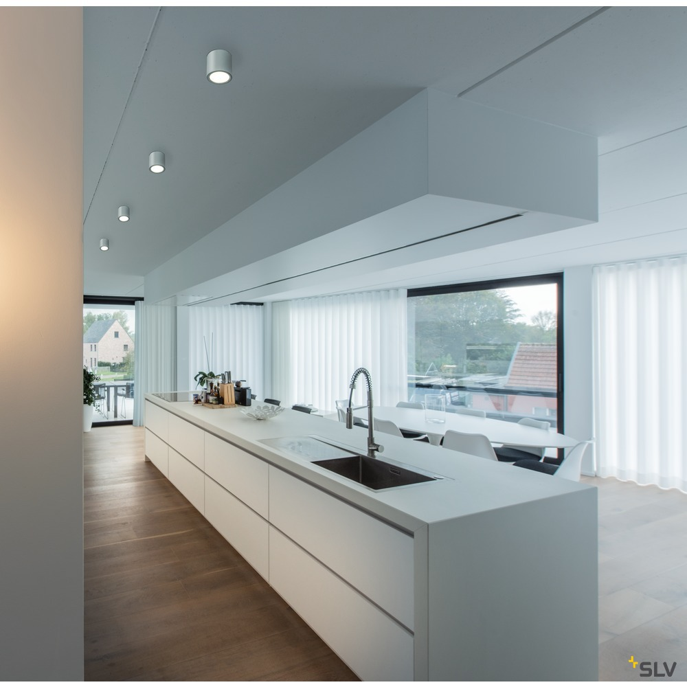 OCULUS CL, Indoor LED Deckenaufbauleuchte weiß DIM-TO-WARM 2000-3000K weiß