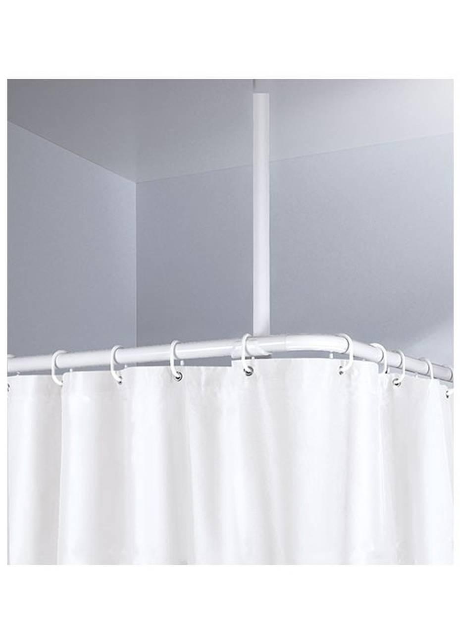 DV-Schiene Deckenhalter Aluminium Weiss 60 cm