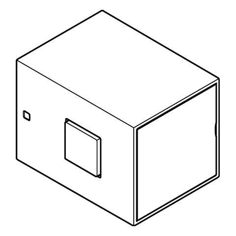 GROHE Temperaturwählgriff 47958 für Grohtherm Cube chrom