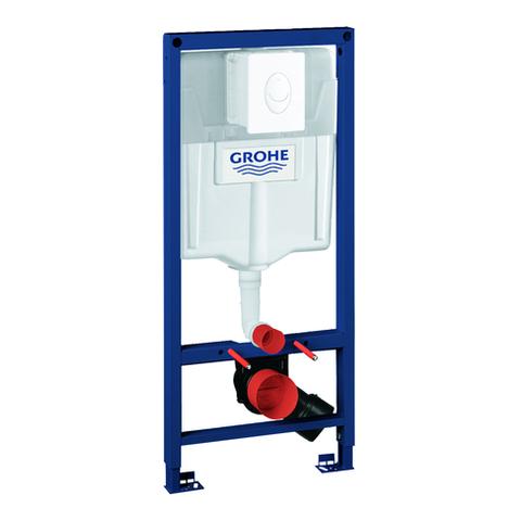 GROHE WC-Set Rapid SL 38764_1 BH 1,13m mit Abdeckplatte Skate Air alpinweiß