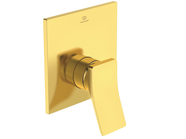IS Brausearmatur UP Conca Bausatz2 Brushed Gold