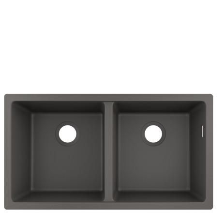 HG Unterbauspüle 370x370 S510-U770 steingrau