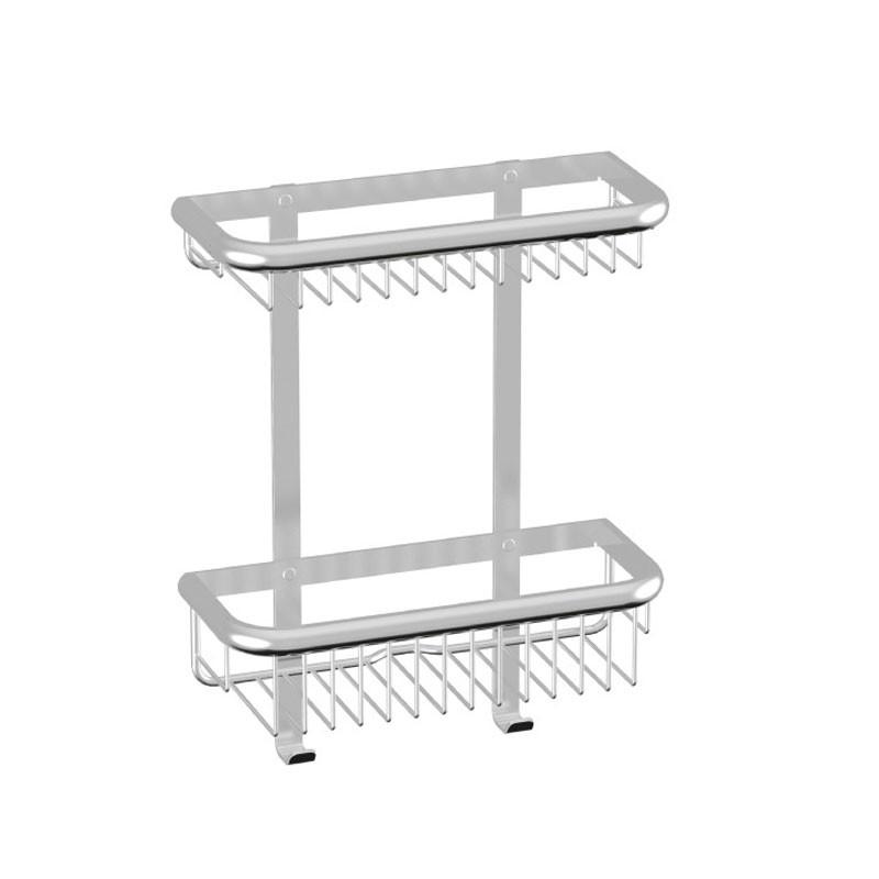 HSK Komfort & Pflege - Duschkorb Premium Wandmodell, 2-teilig