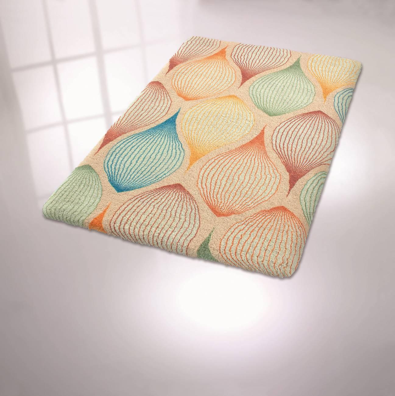 Badteppich Magic 100 % Polyester Multicolor