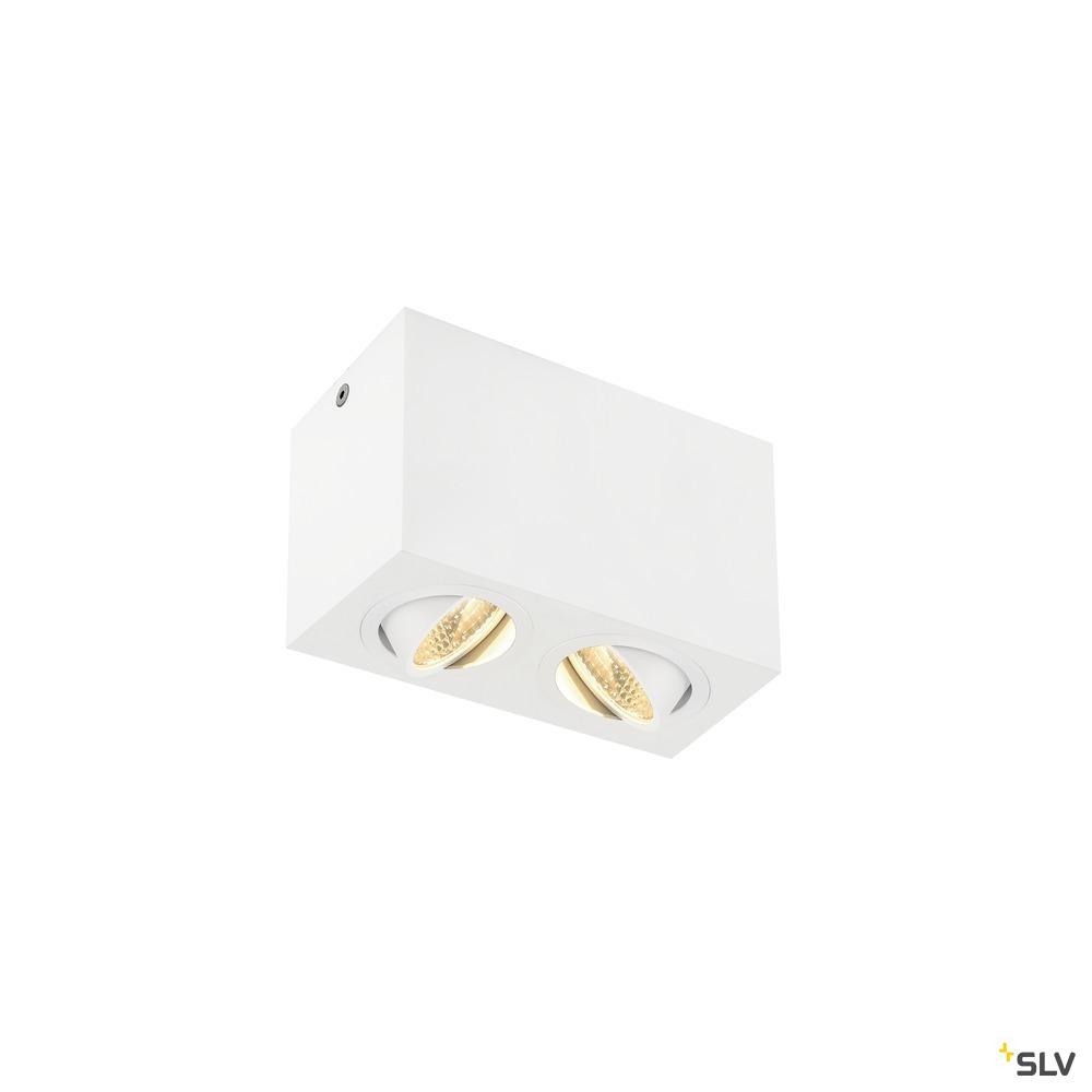 TRILEDO Double, LED Indoor Deckenaufbauleuchte, weiß, 3000K, 16W weiß