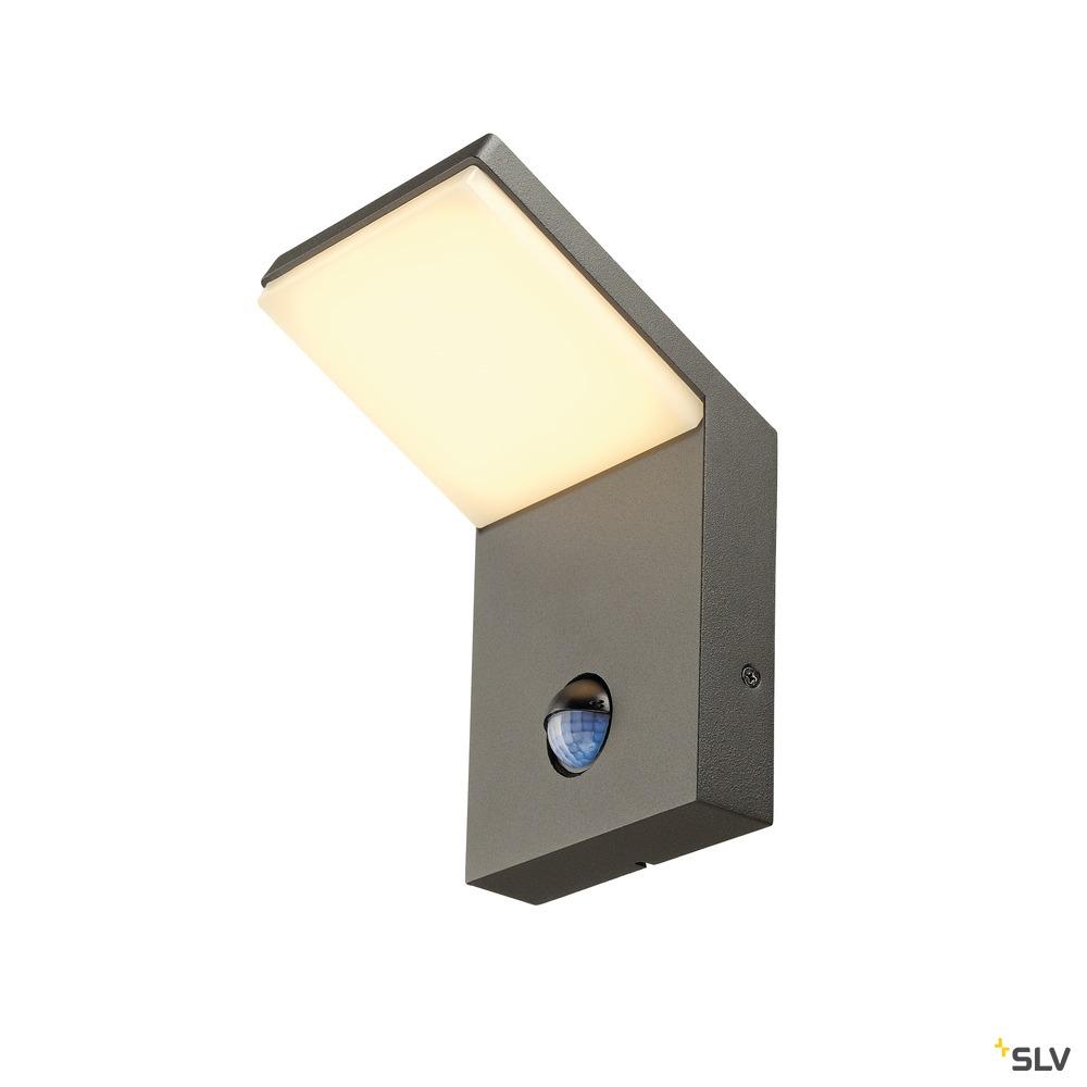 ORDI, Outdoor Wandleuchte, LED, 3000K, anthrazit, mit Sensor