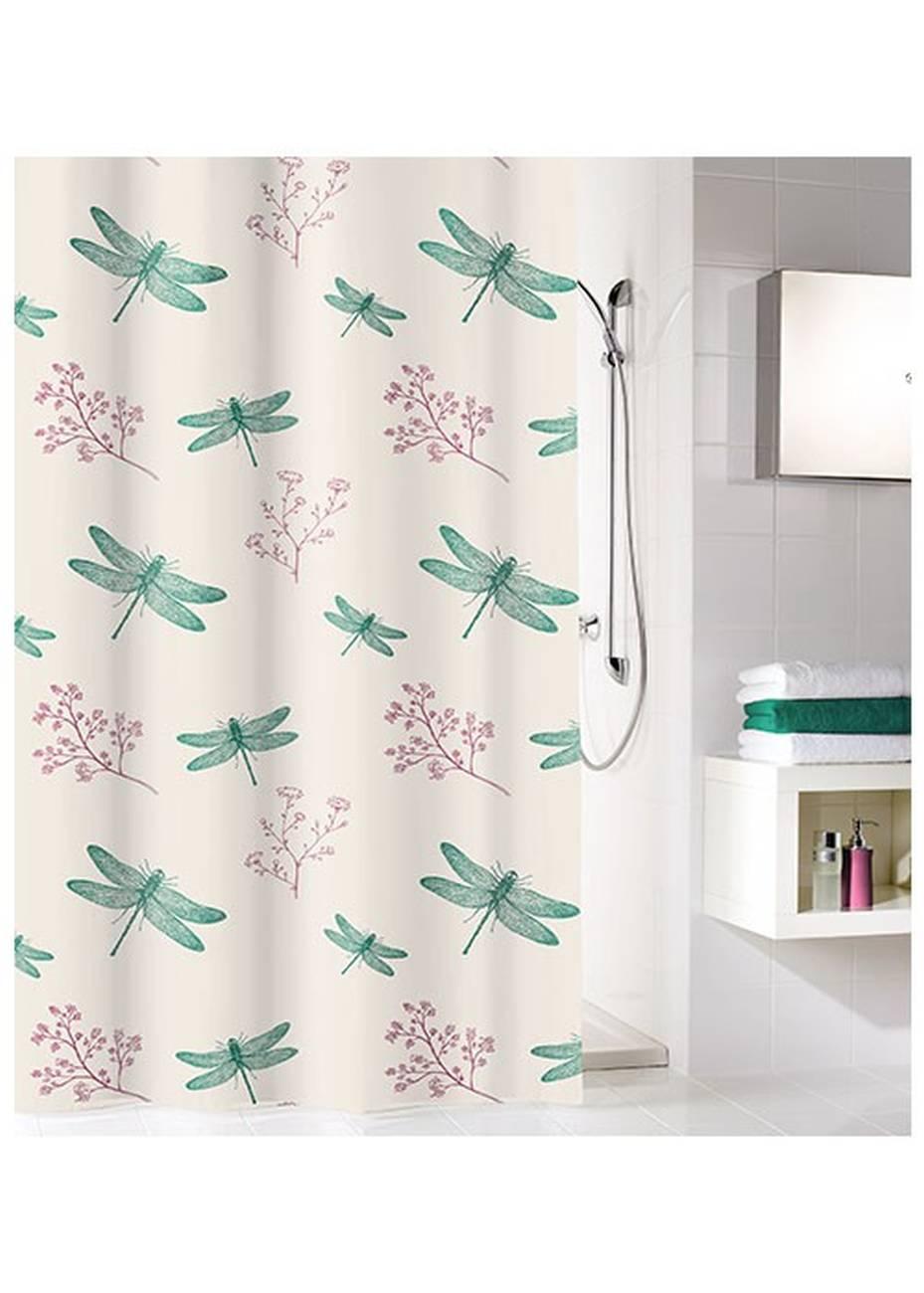 Duschvorhang Scarlett 100 % Polyester Smaragd 180x200 cm