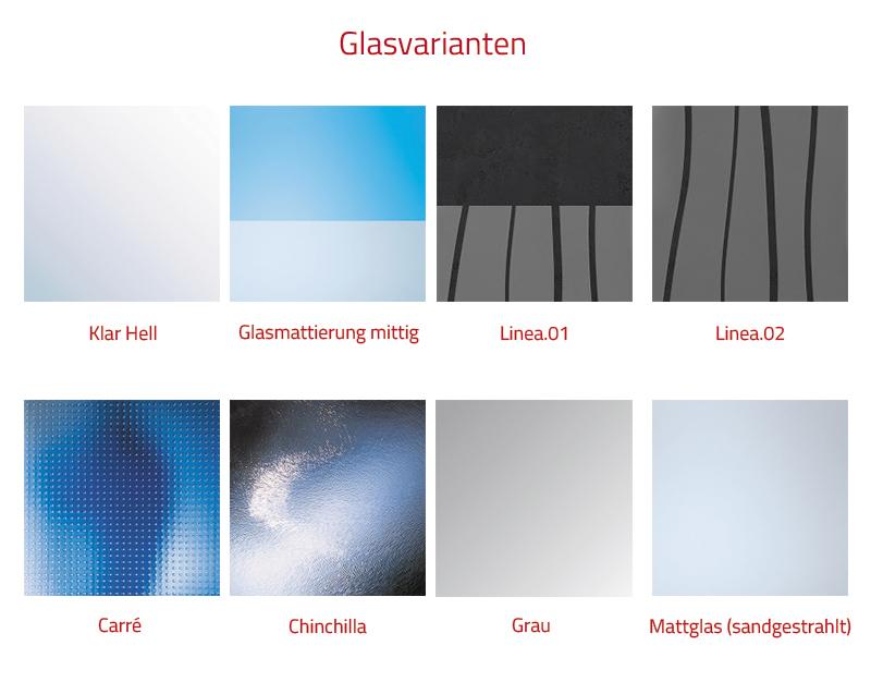HSK Premium Softcube Seitenwand - 700 mm Links exkl. Aufmaßservice ohne Beschichtung Chromoptik Mattglas (sandgestrahlt)