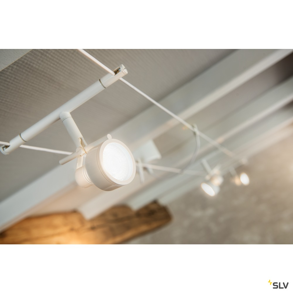 SALUNA, Seilleuchte für TENSEO Niedervolt-Seilsystem, QR-C51, chrom