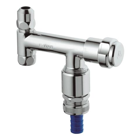 GROHE WAS-Ventil Eckfix 41033 Design-Gr. DN10 mit RV und Rohrbelüfter chrom