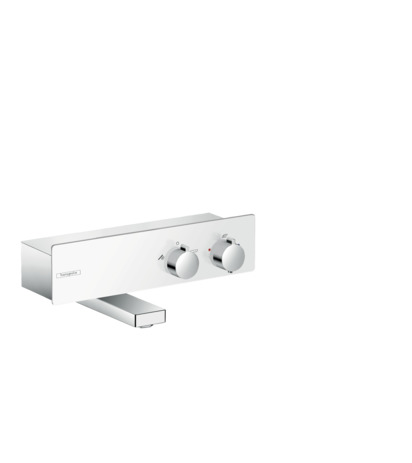 HG Thermostat ShowerTablet 350 Wanne Aufputz DN15 weiss/chrom