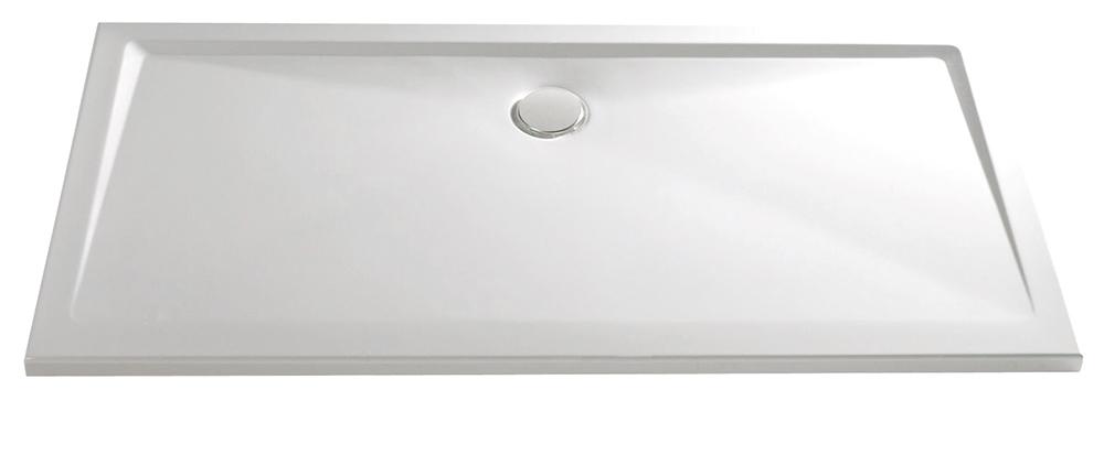 HSK Marmor-Polymer-Duschwannen, super-flach - Rechteck 90x120 ohne AntiSlip-Beschichtigung
