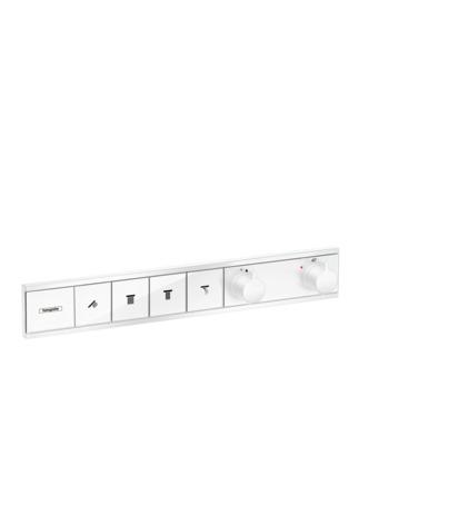 HG Thermostat Unterputz RainSelect Fertigset 4 Verbraucher mattweiss