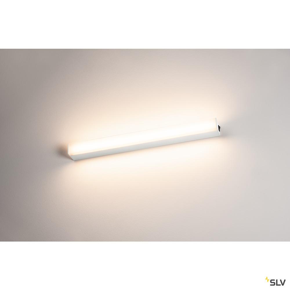 SIGHT LED, Wand- und Decken- leuchte, mit Schalter, 600mm, weiss
