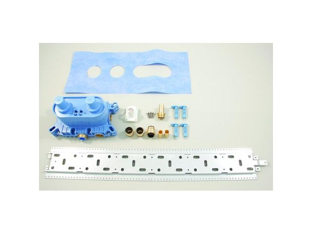 IS UP-Bausatz 1 ThermostateinheitArchimodule mit Montageschiene
