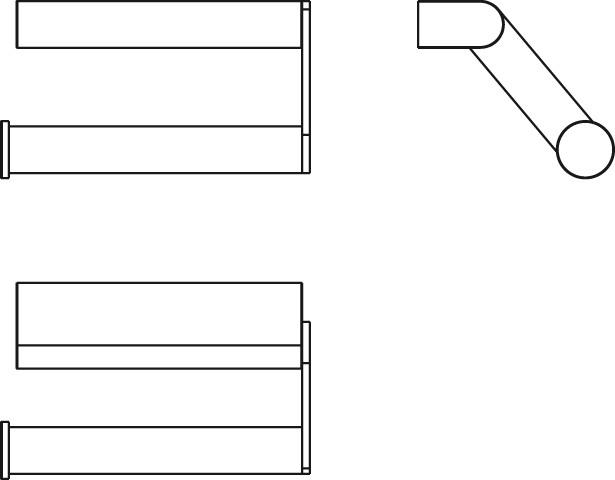 IS Papierrollenhalter Connectohne Deckel Chrom