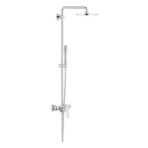 GROHE Duschsystem Euphoria Eurodisc C 210 23058_3 mit Einhandmischer chrom
