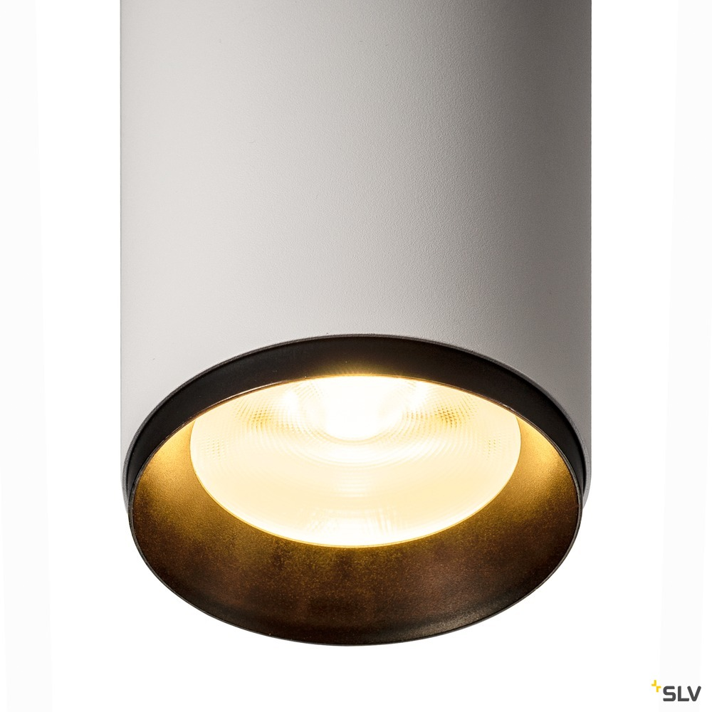 NUMINOS® PD DALI L, Indoor LED Pendelleuchte weiß/schwarz 3000K 36°