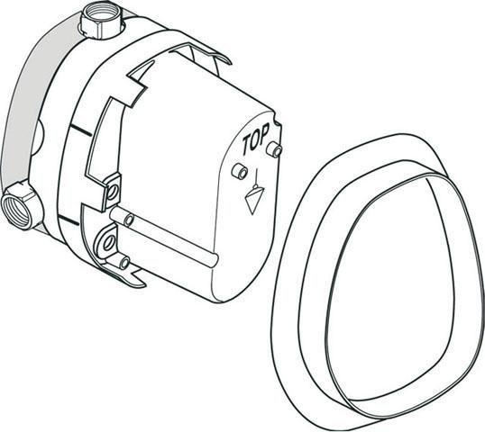 IS UP-Bausatz 1 für Einzelthermostat