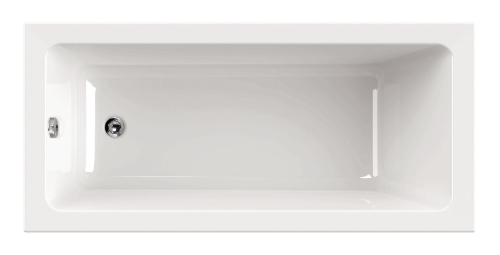 """Harmonie"" Badewanne Rechteck - 1500x700x420 mm exkl. Wannenfuß exkl. Montagewinkel inkl. Wannenanker inkl. Wannendichtband exkl. Nackenkissen exkl. Acryl-Pflegeset"
