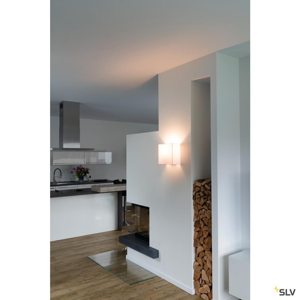 ACCANTO SQUARE E27, Indoor Wandaufbauleuchte weiß