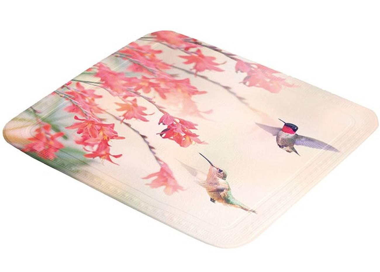 Duscheinlage Kolibri PVC Multicolor 55x 55 cm