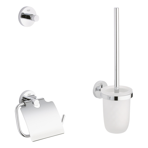 GROHE WC-Set 3-in-1 Essentials 40407_1 chrom