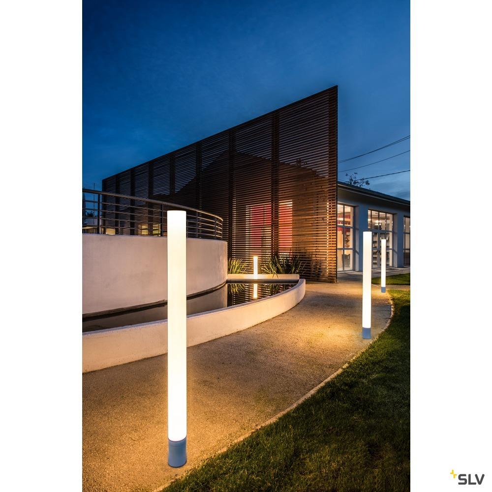 LIGHT PIPE, Wege- und Standleuchte, LED, 2700K, weiß, Ø/H 10/90 cm