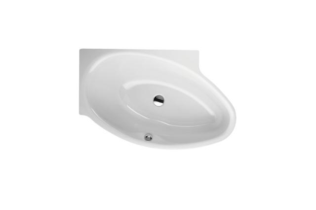 Bette Pool I Links - 1610×1020 mm Weiß inkl. Antirutsch exkl. Wannenträger