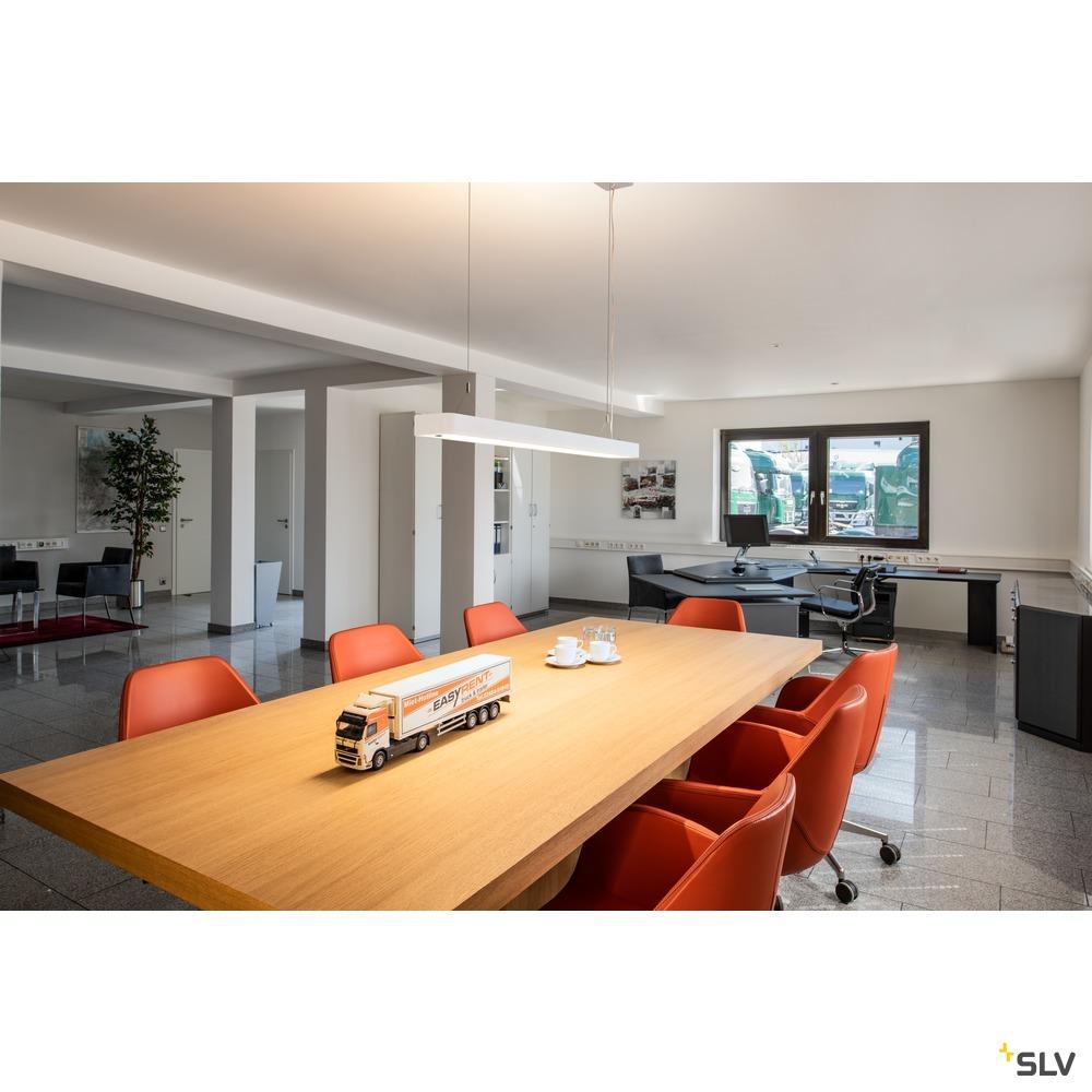 WORKLIGHT PLUS PD, Indoor LED Pendelleuchte weiß 4000K
