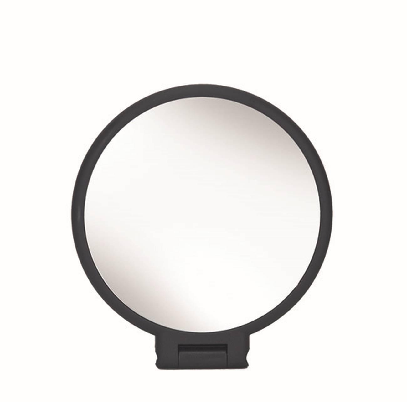 Kosmetikspiegel Multi Mirror Polystyrol/Glas Schwarz Spiegel