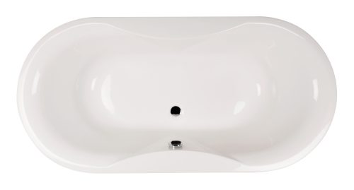 """Shape Clear"" Badewanne Oval XXL - 1850 x 900 x 635 mm"