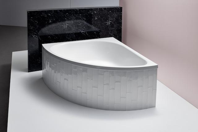 Bette Arco - 1400×1400×450 mm Weiß exkl. Antirutsch