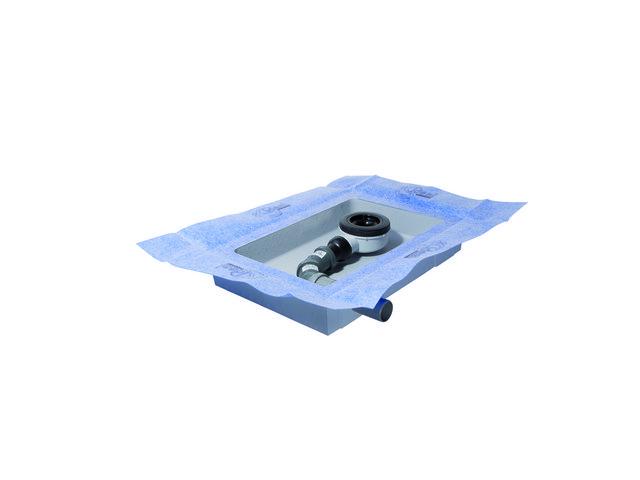 IS Ablaufbox klein DN40 460x320x75mm links
