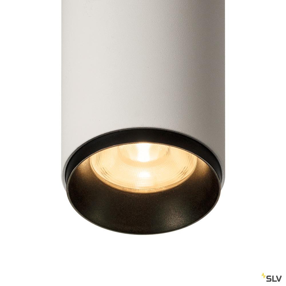 3~ NUMINOS® DALI M, 3 Phasen System Leuchte weiß/schwarz 2700K 36°