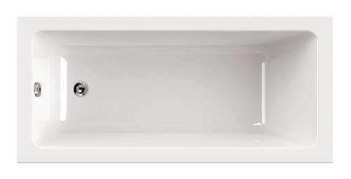 """""""Harmonie"""" Badewanne Rechteck - 1700x750x420 mm inkl. Wannenfuß inkl. Montagewinkel inkl. Wannenanker inkl. Wannendichtband inkl. Nackenkissen exkl. Acryl-Pflegeset"""