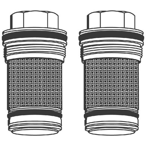 GROHE Rückflussverhinderer 14117 DN 20 für Grohmix 2 Stück chrom