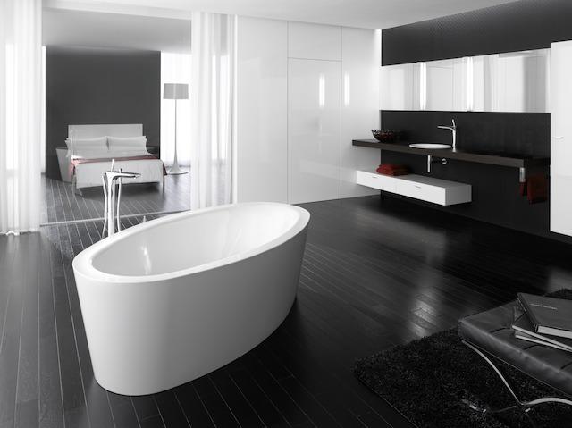 Bette Home Oval Silhouette - 1800×1000 mm Weiß inkl. Antirutsch