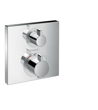 HG Thermostat Unterputz Ecostat Square Fertigset 1 Verbraucher chrom