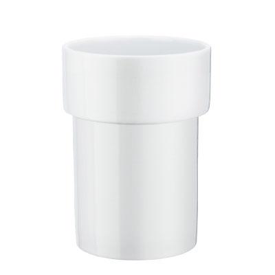 SMEDBO Ersatzglas für Zahnputzbeche. porzellan