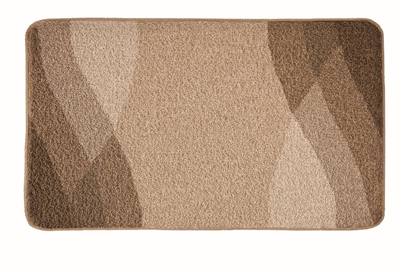 Badteppich Suri 100 % Polyacryl Schiefer 80x140 cm 55x 65 cm Kaschmir