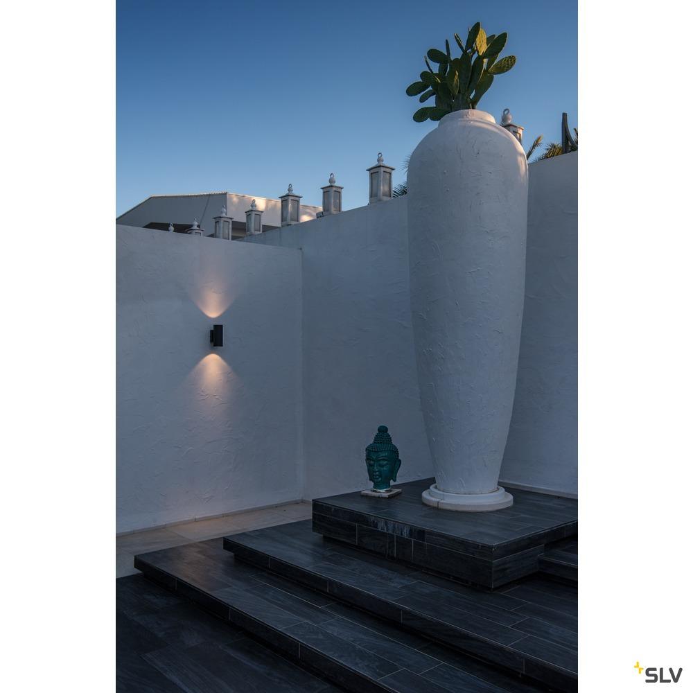 ENOLA ROUND UP/DOWN S, Outdoor LED Wandaufbauleuchte anthrazit