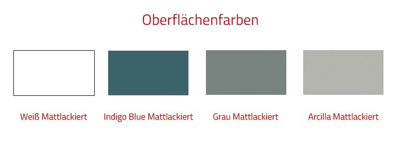 Thielsch Badmöbel Marea Spiegel 90 x 70cm, Grau Mattlackiert