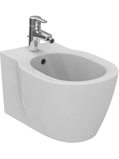 IS Wandbidet Connect unsichtbare Bef. 1 Hl. 360x540x305mm Weiß