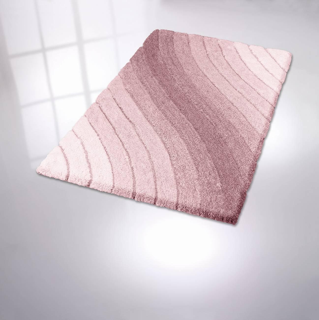 Badteppich Tender 100 % Polyester Sandbeige 70x120 cm