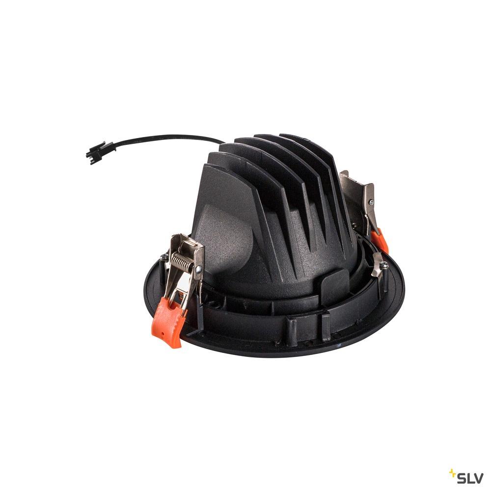 NUMINOS® MOVE DL L, Indoor LED Deckeneinbauleuchte schwarz/weiß 2700K 55° dreh- und schwenkbar